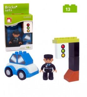 Конструктор Bricks sets (аналог Lego duplo) 13 деталей.