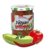 Жаренные кабачки в томатном соусе, 560г.