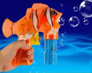 Пистолет для мыльных пузырей Рыба-клоун