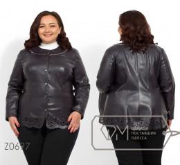 Модель №Z0697 куртка, серый