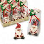 Марципановый Дед мороз в пакетике ручная работа