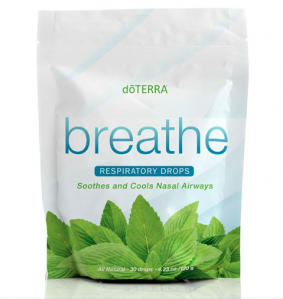 BREATHE RESPIRATORY DROPS / БАД / «Дыхание» Леденцы, 30 штук
