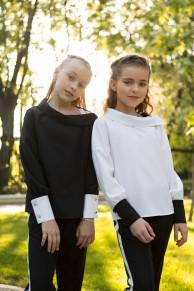Школьная Блуза Для Девочек «sh-49»