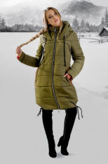 Зимняя Куртка Лиана (хаки) Olis-Style