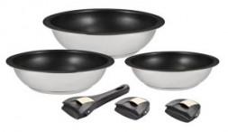 0609 GIPFEL Набор сковородок OUICK-CLAC 6пр.: Сковорода 3шт