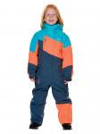 Детский горнолыжный комбинезон 2019-2020, T-8811, Джинсовый