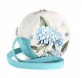 Fashion-сумочка Голубые лепестки 244