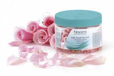 Соль Мертвого моря с экстрактом розы «NAOMI» 350 мл (Bath De