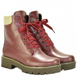 Ботинки LR 2034 бордо