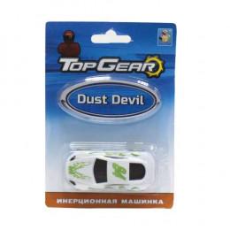 Т103281toy Top Gear пласт. машинка Dust Devil, 8см, инерц.