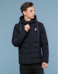 Комфортная подростковая черная куртка Kiro Tokao модель 1188