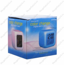 Электронные час LED Color Change