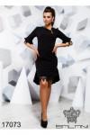 Платье с кружевом - 17073