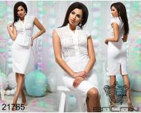 Стильный юбочный костюм - 21765