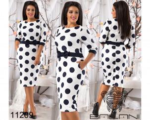 Облегающее платье - 11209