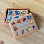 Мемори Мир животных в коробочке