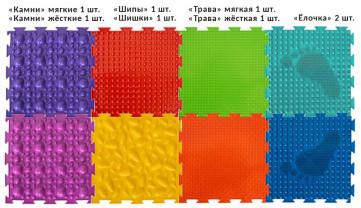 Набор массажных ковриков Универсал, от 2-х лет