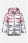82270 Куртка (PLAYTODAY)светло-розовый,серебристый