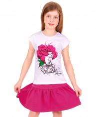 """""""Розовый сад"""" [490423]Джемпер для девочки ДДК063804"""