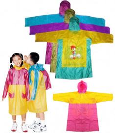 Детский плащ-дождевик в ассортименте (рр 100-110см)