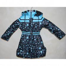 Пальто демисезонное Звезды Пралеска (Белоруссия) рост 122
