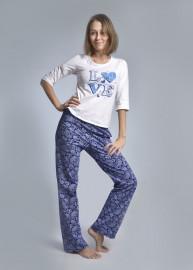 Пижама с брюками «LOVE»