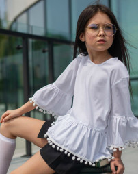 """Школьная блуза для девочки """"SH-69"""""""