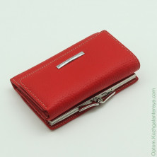 Маленький женский кожаный кошелек Sergio Valentini СВ 8089-0