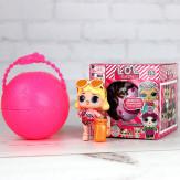 Кукла-сюрприз в шаре 1 штука
