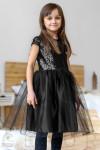 Воздушное платье с пайеткам