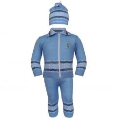 Костюмчик Арктика голубой
