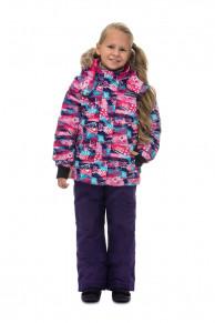 WP81208 PURPLEКомплект зимний: куртка и брюки р86-100