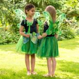 Girls Green 'Sparkle Fairy' 3 Piece Dress-Up Costume