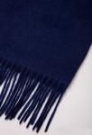 Шарф кашемировый синий