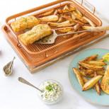 Сетка-корзинка для духовки, фритюра и барбекю