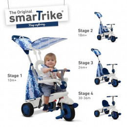 Smart Trike, Spirit, pojazd rowerek, niebieski