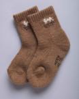 Носки детские из шерсти верблюда 100%, Монголия