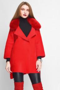Вязаное пальто 31013