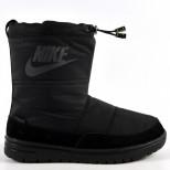 Дутики зимние женские Nike реплика