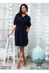 Платье с карманами на груди - 22212