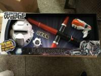 Т58794Набор: световой меч, пистолет, звук. свет. эффекты, ш