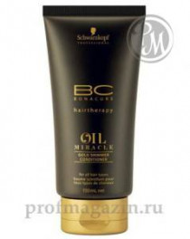 Bonacure oil miracle кондиционер для жестких 150мл
