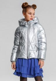 """Куртка """"Алиса"""" серебристый"""