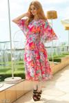 Платье с цветочным принтом 13792