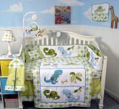 SOHO Dinosaur Crib Nursery Bedding Set 13 pcs