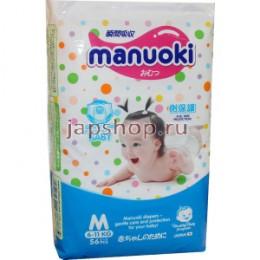Подгузники-Трусики MANUOKI, размер M, 6-11 кг. (56 шт.)