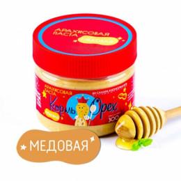 Арахисовая паста медовая