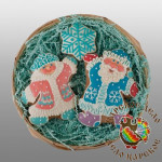 501-77- Набор «Дед Мороз и Снегурочка»
