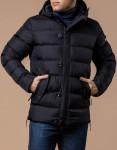 Куртка теплая черного цвета модель 20180
