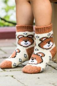 Носки шерстяные N6R151-1